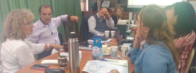 Reunión de trabajo con Supervisores